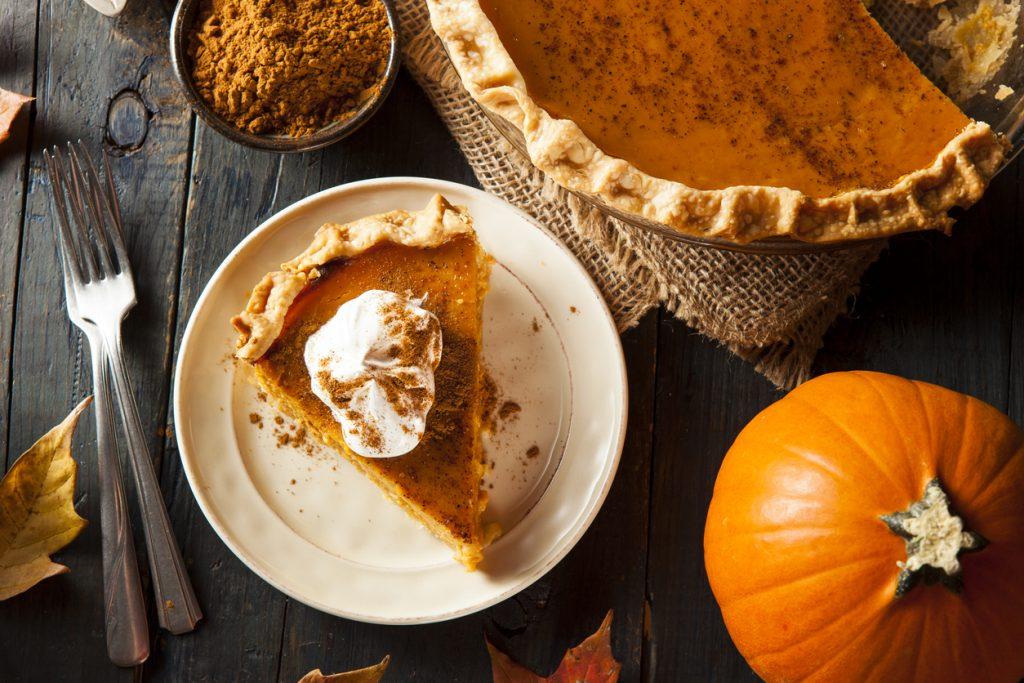 Homemade Pumpkin Pie fall treats