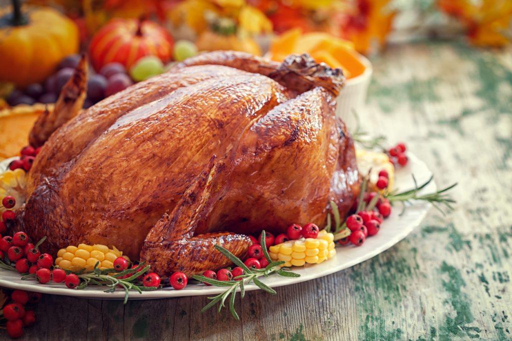 Thanksgiving Turkey holiday dinner